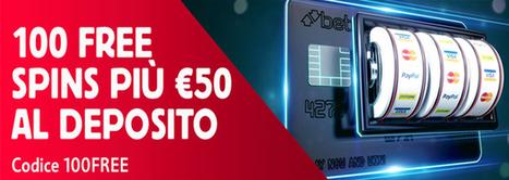 100 FREE SPINS PIÙ €50 AL DEPOSITO | Online Slots | Scoop.it