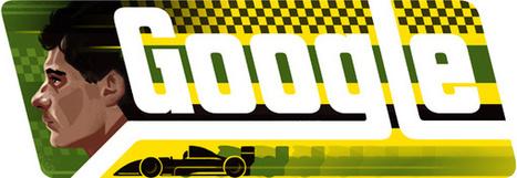 Ayrton Senna, il ricordo nel doodle di Google | Motori | Scoop.it