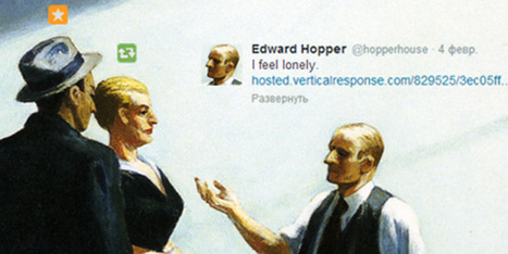 Classic Paintings, Explained With Tweets, Status Updates, and Emojis | Underwire | WIRED | Web 2.0 et société | Scoop.it
