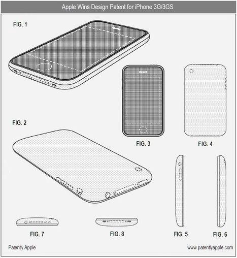 référence: Site des brevets d'Apple   Brevets d'usage   Scoop.it