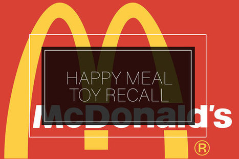 McDonald's Recalls Happy Meal Fitness Tracker after Injuries   Bergener Mirejovsky   Product Recalls   Scoop.it