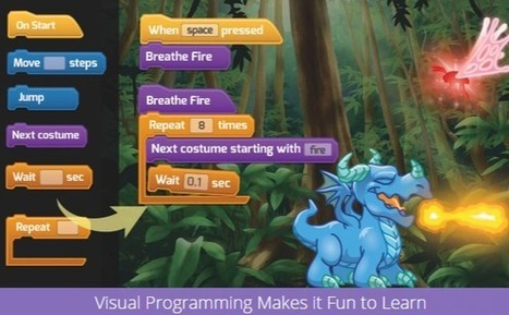 Tynker - free web app for learning how to program | Technopédago | Scoop.it