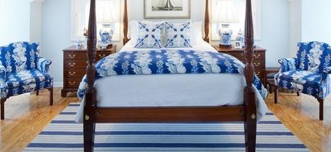 Kuriame miegamojo interjerą. Mėlyna spalva | Patalynės pasaulis | Scoop.it