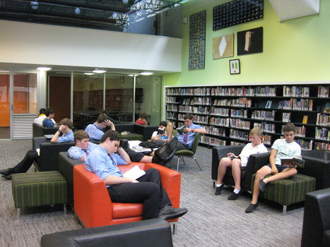 Books and Reading Home - Library HQ at St Joseph's College, Hunters Hill | Books & Blokes | Scoop.it