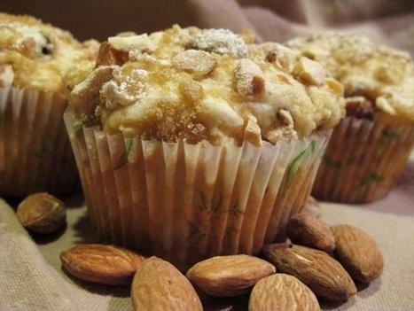 Almond Chip Vegan Coconut Muffins Recipe- Go Dairy Free | My Vegan recipes | Scoop.it