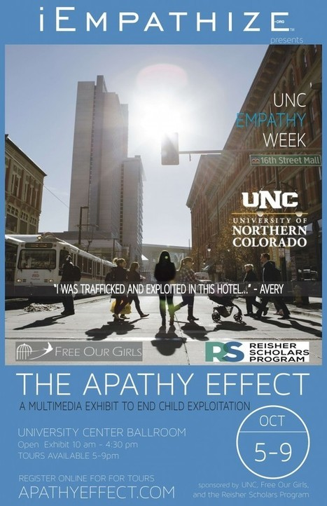 Empathy Week at UNC – The Apathy Effect Exhibit | iEmpathize – Eradicating Child Exploitation, | Empathy and Compassion | Scoop.it