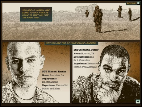 Elearning example: Branching scenario for US Army | FutureTech for Learning | Scoop.it