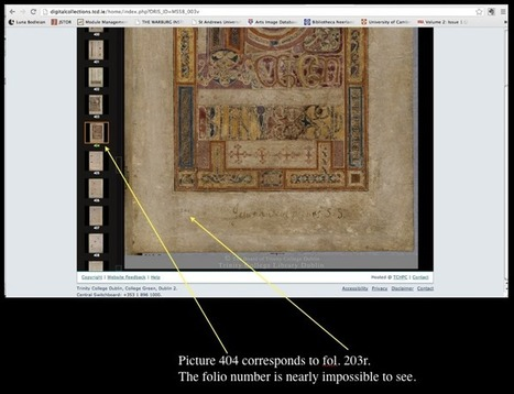 Travels in the Fifteenth Century: The Book of Kells Online: A Review | Special Collections Librarianship | Scoop.it