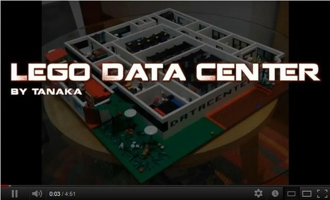 Data Center Made Entirely Out of LEGO | ServerLIFT | Datacenter Howto | Scoop.it