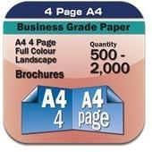 210X297mm Brochures printing Online | online printings Australia | Scoop.it