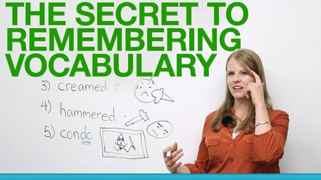 The secret to remembering vocabulary | Video English | Scoop.it