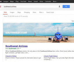 Google experiments with giant banner ads on top of search results   eMarketing Trends & Innovations   Scoop.it