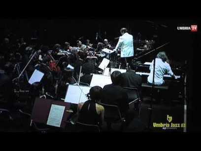 Umbria Jazz 2013 Bollani e l'orchestra del Santa Cecilia all'arena Santa Giuliana | Music I like | Scoop.it