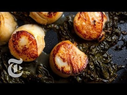 Cooking Scallops With Sorrel Butter | Melissa Clark Recipes | The New York Times - | latestvideo news | Scoop.it