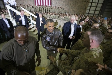 Obama Lands in Afghanistan for Unannounced Troop Visit | News You Can Use - NO PINKSLIME | Scoop.it
