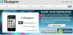 Quipper | E-learning, Blended learning, Apps en Tools in het Onderwijs | Scoop.it