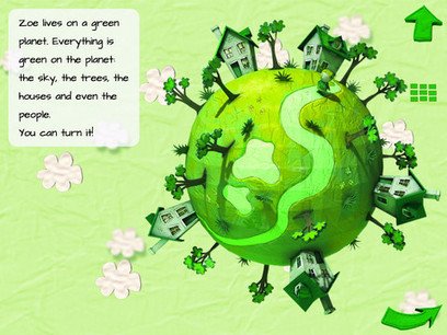 Zoe's Green Planet HD App Review – An App Of Many Colors   Square Igloo press review   Scoop.it