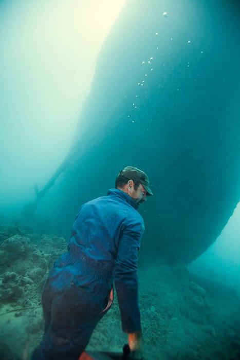 Images époustoufflantes de maintenance d'une épave dans la mer rouge   Actu de la maintenance   Scoop.it