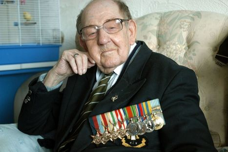 Hundreds gather for the funeral of Second World War veteran Frederick Leach | second world war | Scoop.it