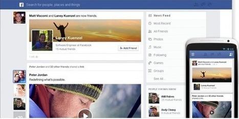 Facebook: novo Feed de Notícias exibe o que mais lhe interessa | Pplware | Tecnologia e Comunicação | Scoop.it