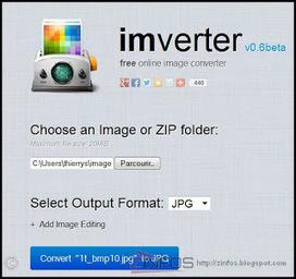 Imverter la super boite à outils en ligne pour tout faire avec vos images | SEO - Digital Marketing | Scoop.it