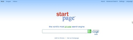 Startpage Web Search | Skolbiblioteket och lärande | Scoop.it