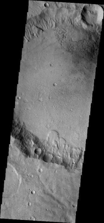 Landslides | Mars Odyssey Mission THEMIS | Science Wow Factor | Scoop.it