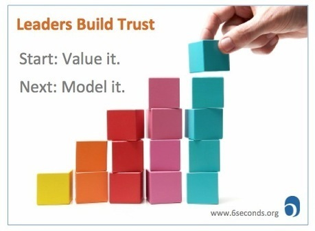 Can Leaders Build Trust? Leadership with Emotional Intelligence | Antidote to procrastination | Scoop.it