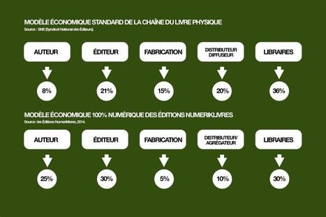 Comparaison entre les coûts de la chaine du livre papier et celle du livre numérique | Le numérique au SLP | Scoop.it