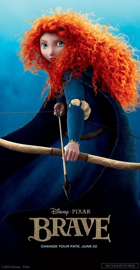 Why Does Merida in Brave Have to Have Red Hair?   Brave - Changing Faces of Disney Princesses   Scoop.it