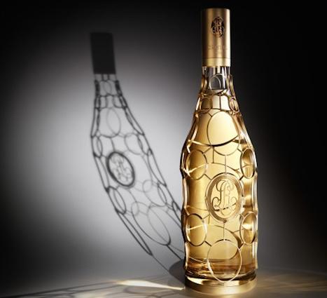 French champagne house Louis Roederer's limited edition Cristal Jeroboam is encased in 24-carat gold | Epicure : Vins, gastronomie et belles choses | Scoop.it