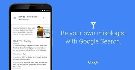 Comment faire un Cocktail avec Google #SemanticWeb #OkGoogle | Veille SEO - Référencement web - Sémantique | Scoop.it