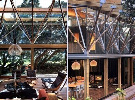Contemporary Forest Beach House Design with Wooden Material ... | Beautiful Beach Houses | Scoop.it