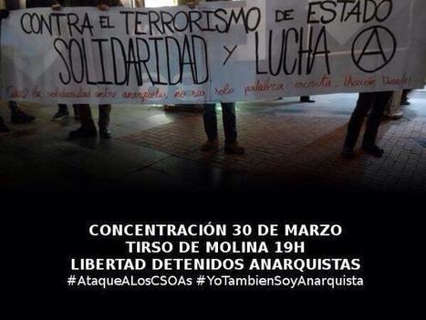 NO es VENEZUELA... ESPAÑA suma ya más PRESOS POLÍTICOS que TODA LATINOAMÉRICA #YoTambienSoyAnarquista | La R-Evolución de ARMAK | Scoop.it