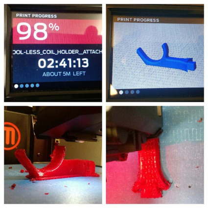 Insta-Arduino | Looks like this print will yield a usable part.... | Raspberry Pi | Scoop.it