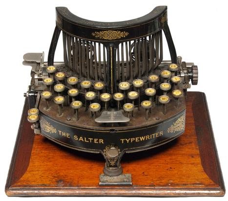 Gorgeous Victorian early  typewriter   Litteris   Scoop.it