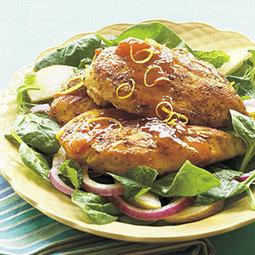 Apricot-Lemon Chicken | MyRecipes.com | Healthy Eating - Recipes, Food News | Scoop.it