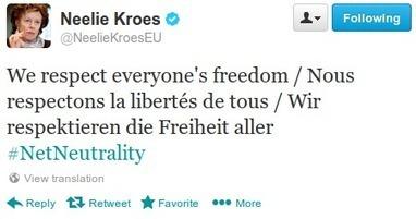 Why the EU Commission's True Intent is to Kill Net Neutrality | La Quadrature du Net | Peer2Politics | Scoop.it