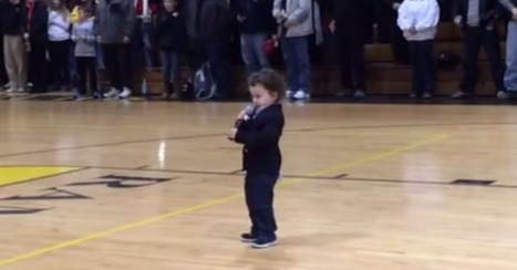 America can't handle the cuteness of a 2-year-old singing National Anthem | Vocalists Only | Scoop.it