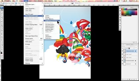 Adobe Illustrator tutorial: Create lush, glossy vector images | Inspiration & Tutorials | Scoop.it