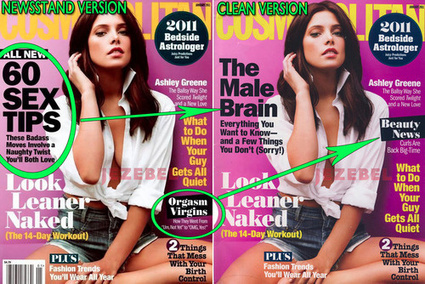 Cosmo's Fake Cover Hides Orgasms From Advertisers | Gender as contested memes | Scoop.it