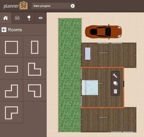 Design Floor Plans & Generate 3D Renders Online With Planner 5D | Le Top des Applications Web et Logiciels Gratuits | Scoop.it