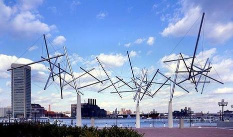"""Kenneth Snelson: """"Easy Landing"""" 