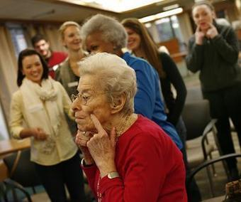 A GOOD AGE: Curry nursing students, Randolph seniors dispel myths of aging - The Patriot Ledger | Aging in 21st Century | Scoop.it