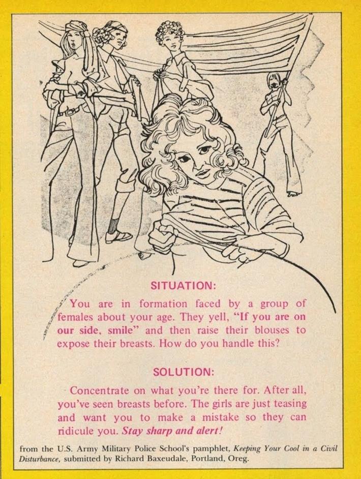 Vintage US Army Police School's Pamphlet | Sex History | Scoop.it