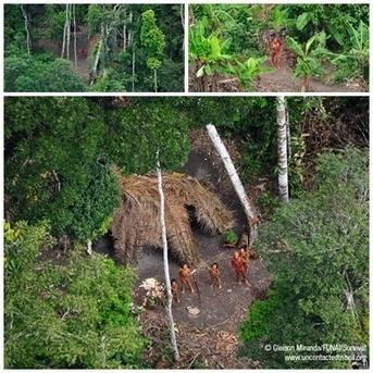 Fotos de una tribu de indígenas del Amazonas amenazada por la tala ilegal | Conciencia Eco | Agua | Scoop.it