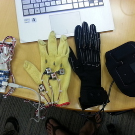 Build a $30k CyberGlove for $40 - Submitted by BayLab for the Instructables Sponsorship Program | Arduino, Netduino, Rasperry Pi! | Scoop.it