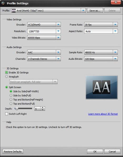 How To Play MXF Files On Smart TV/3D TV - Windows/Mac - MXF Video Converter Tutorial | MXF CONVERTER | Scoop.it