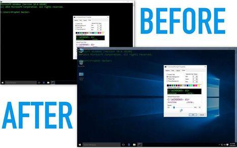 How to Make Command Prompt Transparent in Window 10 | prophethacker | Scoop.it