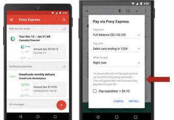 Pony Express : vous pourrez peut-être biêntôt payer vos factures sur Gmail   Riding the new waves   Scoop.it